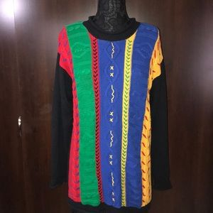 Vintage I.B. Diffusion Coogi Style Sweater Sz S